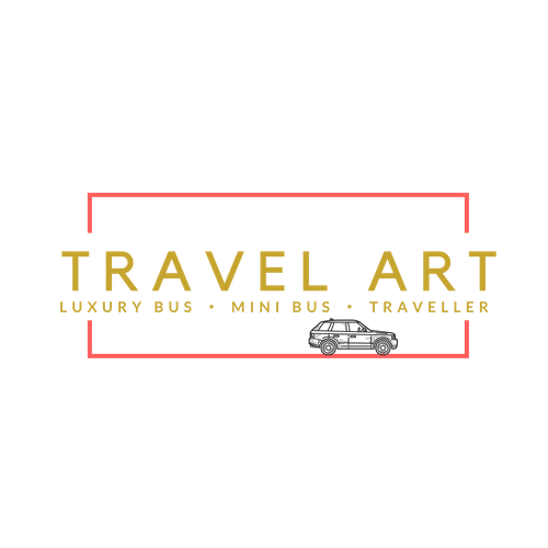 Travel art logo