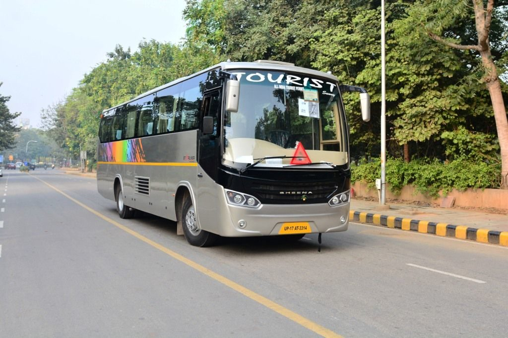 Bus on hire in delhi, Bus on rent