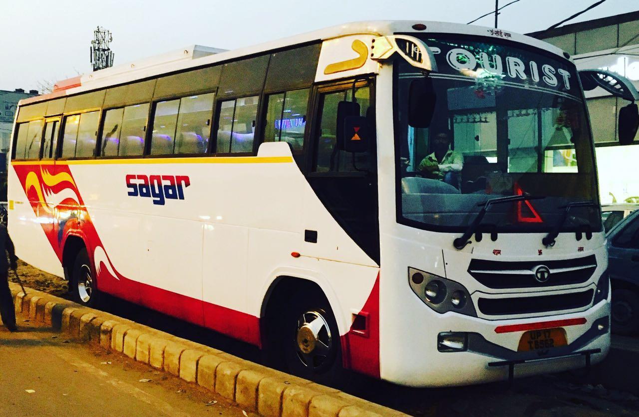 bus on hire new delhi